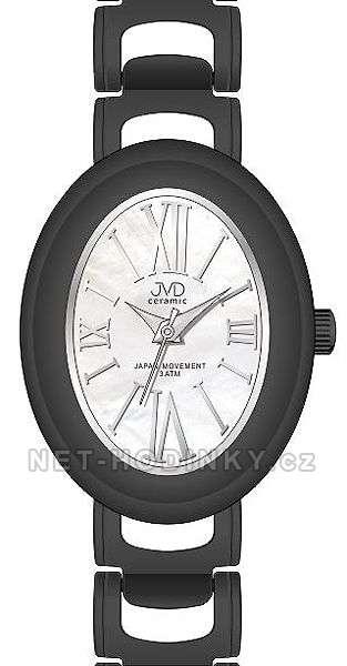 Náramkové hodinky dámské JVD ceramic J6010.1, J6010.2, J6010.3 J6010.2