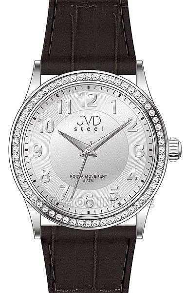 Náramkové hodinky dámské JVD steel J1085.1.1, J1085.2.2, J1085.3.3 j1085.1.1