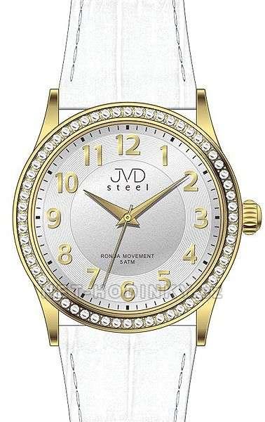 Náramkové hodinky dámské JVD steel J1085.1.1, J1085.2.2, J1085.3.3 j1085.2.2