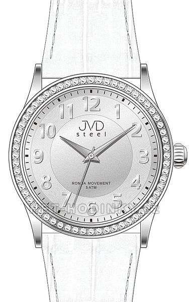 Náramkové hodinky dámské JVD steel J1085.1.1, J1085.2.2, J1085.3.3 j1085.3.3