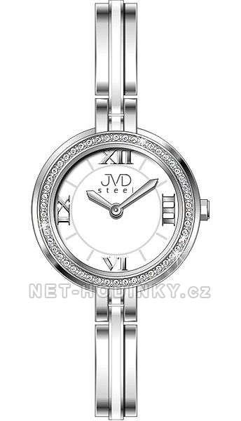 Náramkové hodinky dámské JVD steel W24.2.3 W24.2.3
