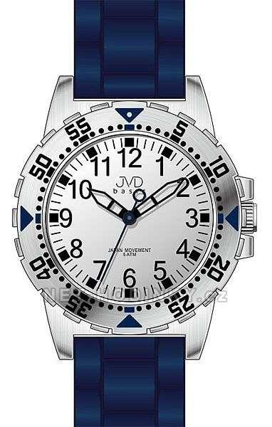 JVD Náramkové hodinky dětské, hodinky pro holky a kluky J7131.1.1 modrá