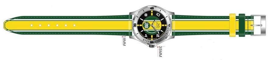 Náramkové hodinky dětské JVD basic W60.1.1, W60.2.2, W60.3.3, hodinky pro holky a kluky W60.1.1 žlutá