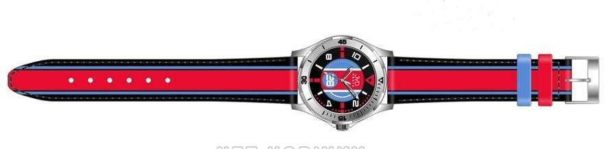 Náramkové hodinky dětské JVD basic W60.1.1, W60.2.2, W60.3.3, hodinky pro holky a kluky W60.2.2 červená