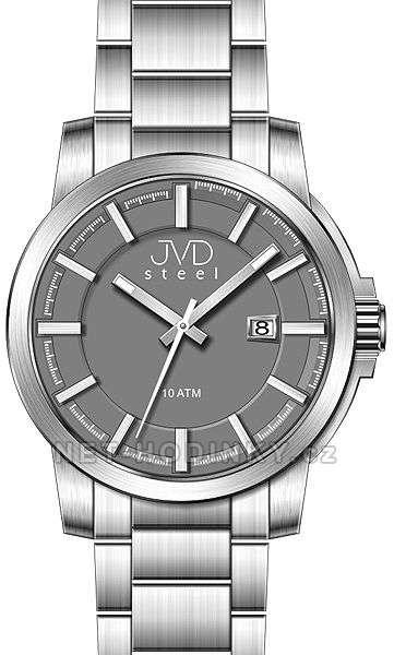 Náramkové hodinky pánské JVD steel W48.1.1, W48.2.2, W48.3.3 w48.1.1