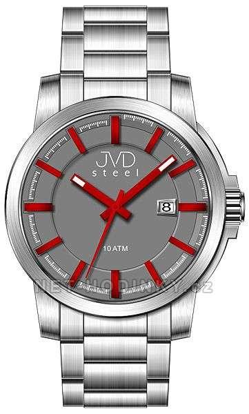 Náramkové hodinky pánské JVD steel W48.1.1, W48.2.2, W48.3.3 w48.2.2