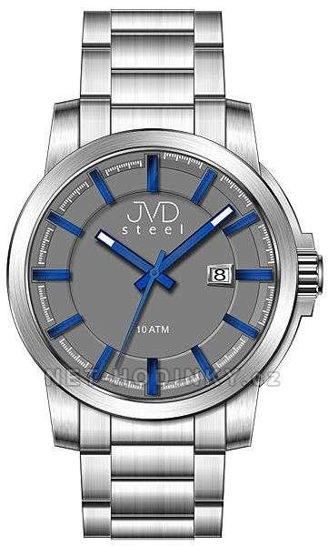 Náramkové hodinky pánské JVD steel W48.1.1, W48.2.2, W48.3.3 w48.3.3
