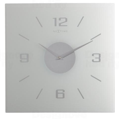 NeXtime Designové nástěnné hodiny 2667fr Nextime Willie 35x35cm
