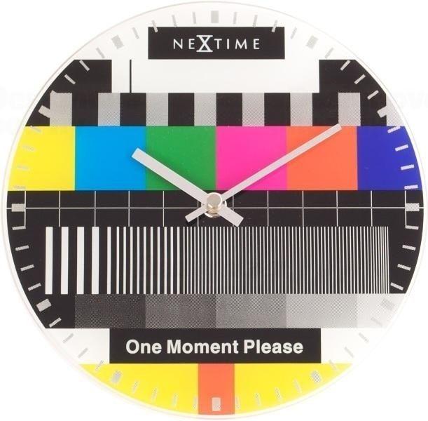 NeXtime Moderní designové na zeď značky Nextime 5162 s motivem Little Testpage