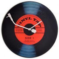 Nástěnné hodiny Designové nástěnné hodiny 8141 Nextime Vinil Tap 43cm Nástěnné hodiny