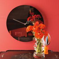 Designové nástěnné hodiny Diamantini a Domeniconi Seven 40cm D&D barvy kov červený lak Diamantini&Domeniconi