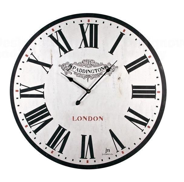 Lowell Italy Dekorativní retro hodiny Lowell 21418