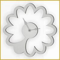 Designové nástěnné hodiny 1499 Calleadesign 45cm (20 barev) Barva žlutá