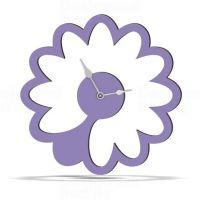 Designové nástěnné hodiny 1499 Calleadesign 45cm (20 barev) Barva stříbrná