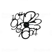 Designové nástěnné hodiny 1500 Calleadesign 30cm Barva černá