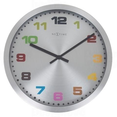 NeXtime Designové nástěnné hodiny 2906kl Nextime Mercure 25cm