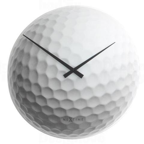 Skleněné nástěnné hodiny se sportovním motivem Nextime 8806