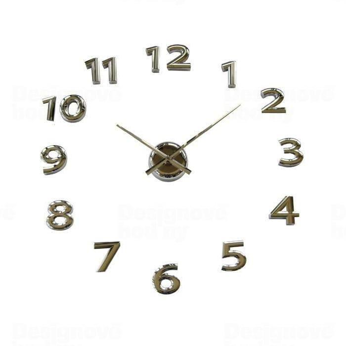 Samolepící hodiny na zeď Balvi 23398