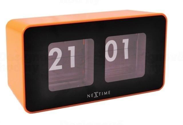 NeXtime Překlápěcí retro stolní hodiny Nextime Flipped 5186