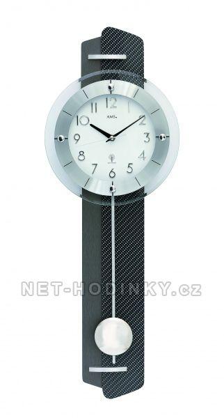 Kyvadlové nástěnné hodiny na zeď, pendlovky quartzové AMS