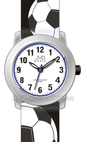 JVD Náramkové chlapecké hodinky, hodinky pro kluka, dětské hodinky J7143.4.4