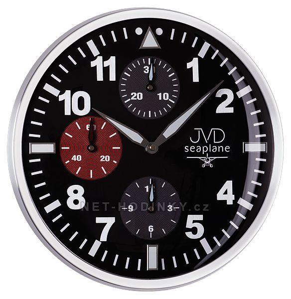 JVD Nástěnné hodiny na stěnu HA15.1