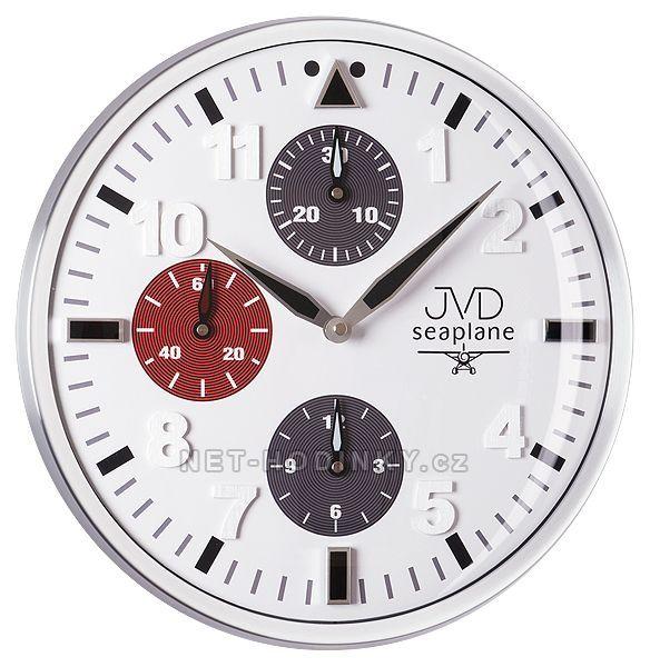 JVD Nástěnné hodiny na stěnu HA15.2
