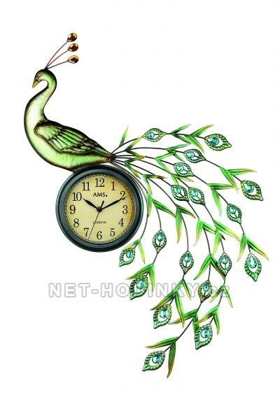 AMS Nástěnné hodiny na stěnu, nástěnné hodiny na zeď velké