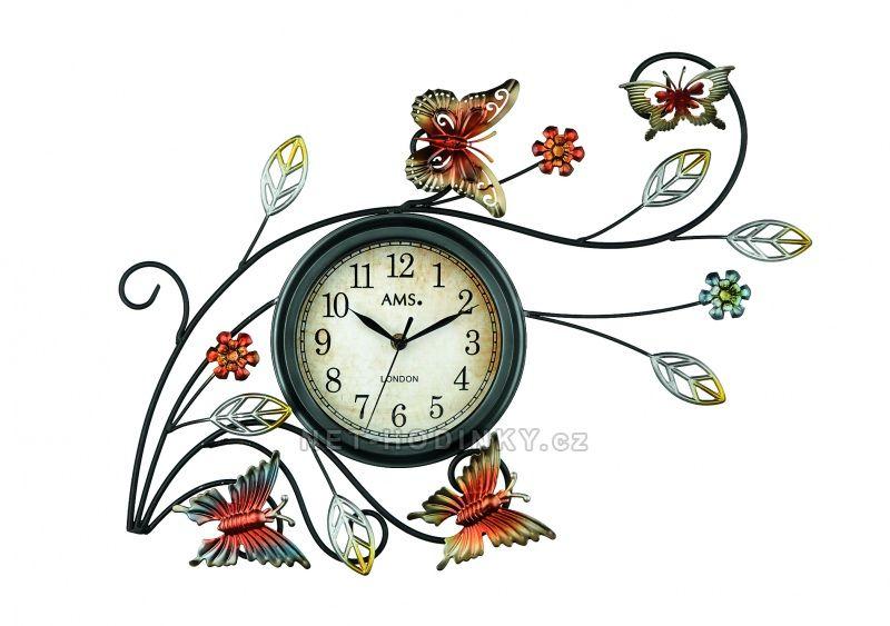 AMS Nástěnné hodiny na zeď, hodiny vyrobené v Německu