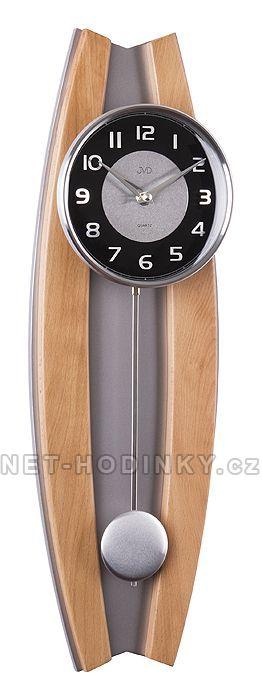 JVD Nástěnné hodiny na zeď, pendlovky N13003.68.3 olše