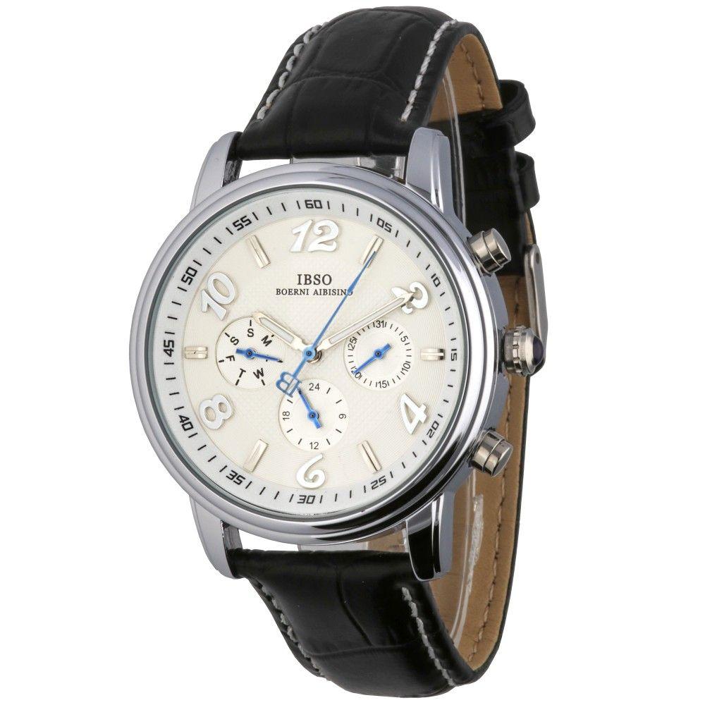 Moderní hodinky se zajímavým ciferníkem a ukazatelem data..015 A.Q02I7070B90
