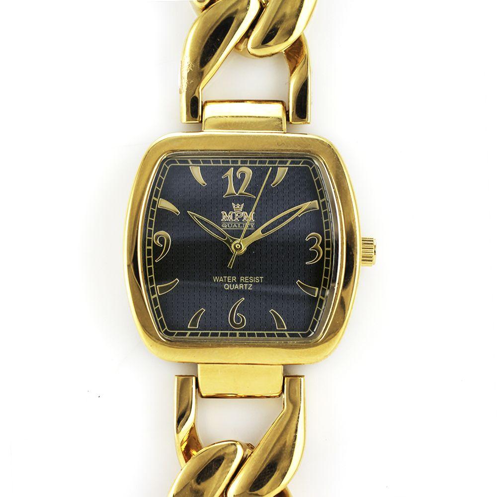 Dámské zlaté hodinky na elegantním náramku..0180 A.Q00J9080A80 a66e27f1f7