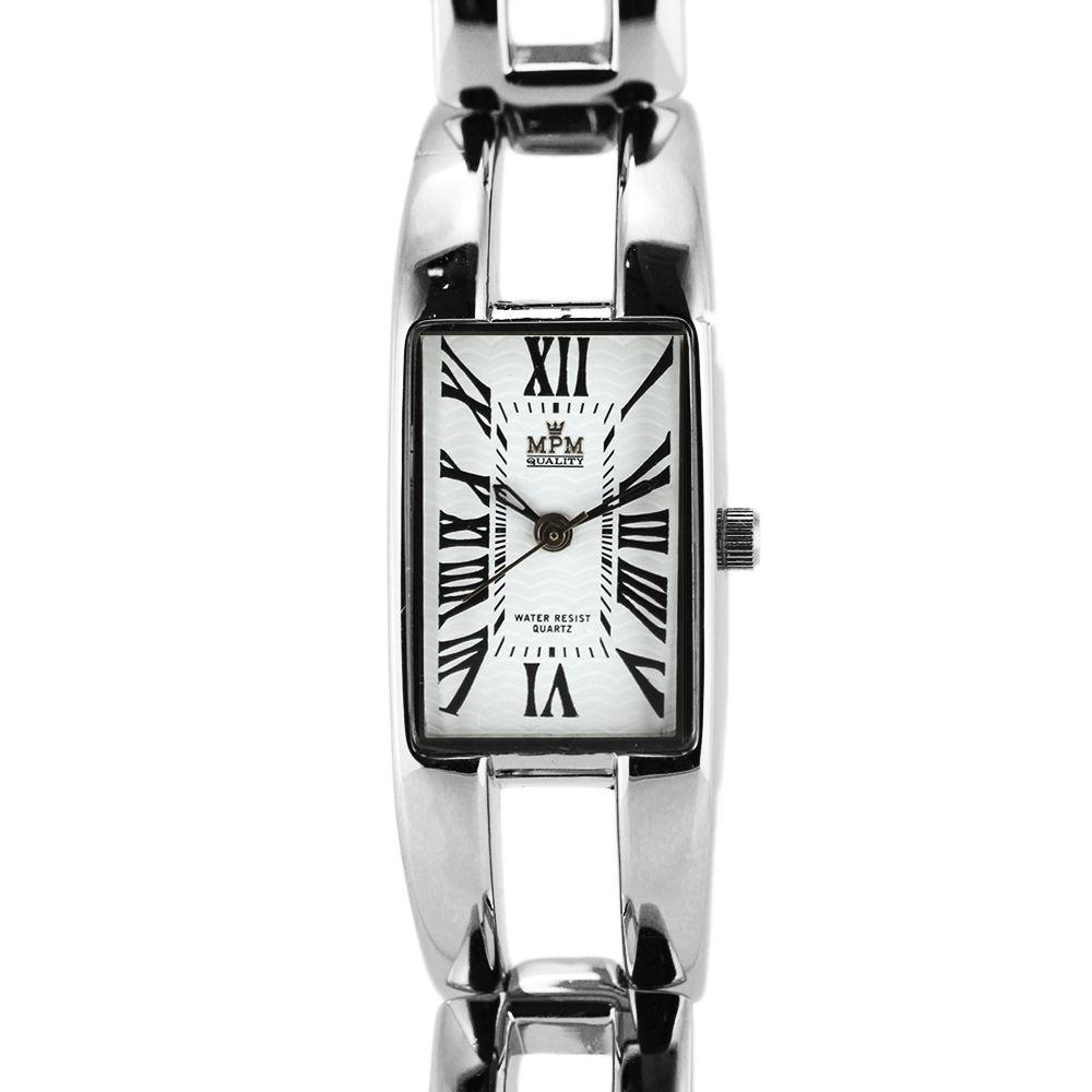 fd95cfa0866 Dámské stříbrné hodinky s reliéfním číselníkem na pevném náramku..0172  A.Q00I0090A71