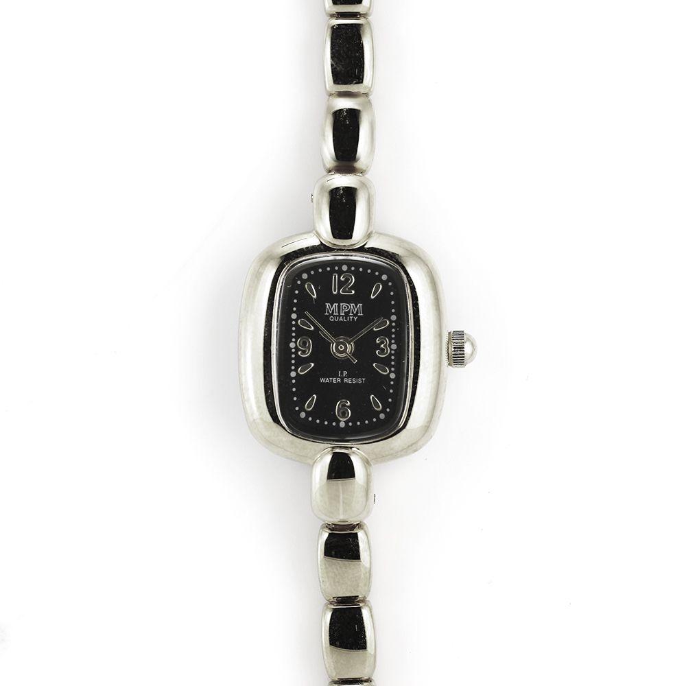 Jemné dámské hodinky stříbrné barvy..0172 A.Q00I9071A71