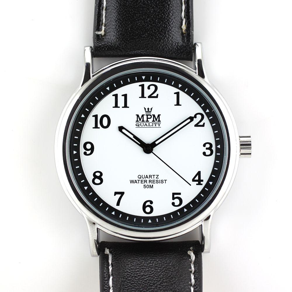 Pánské klasické hodinky s luminiscenčními ručičkami..0209 A.Q00I0090B90
