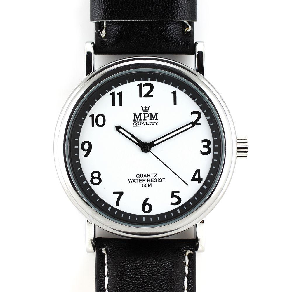 Pánské klasické hodinky s luminiscenčními ručičkami..0208 A.Q00I0090B90