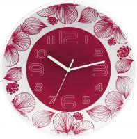 Krásné hodiny v různých barevných kombinacích s květinovým dekorem..0120