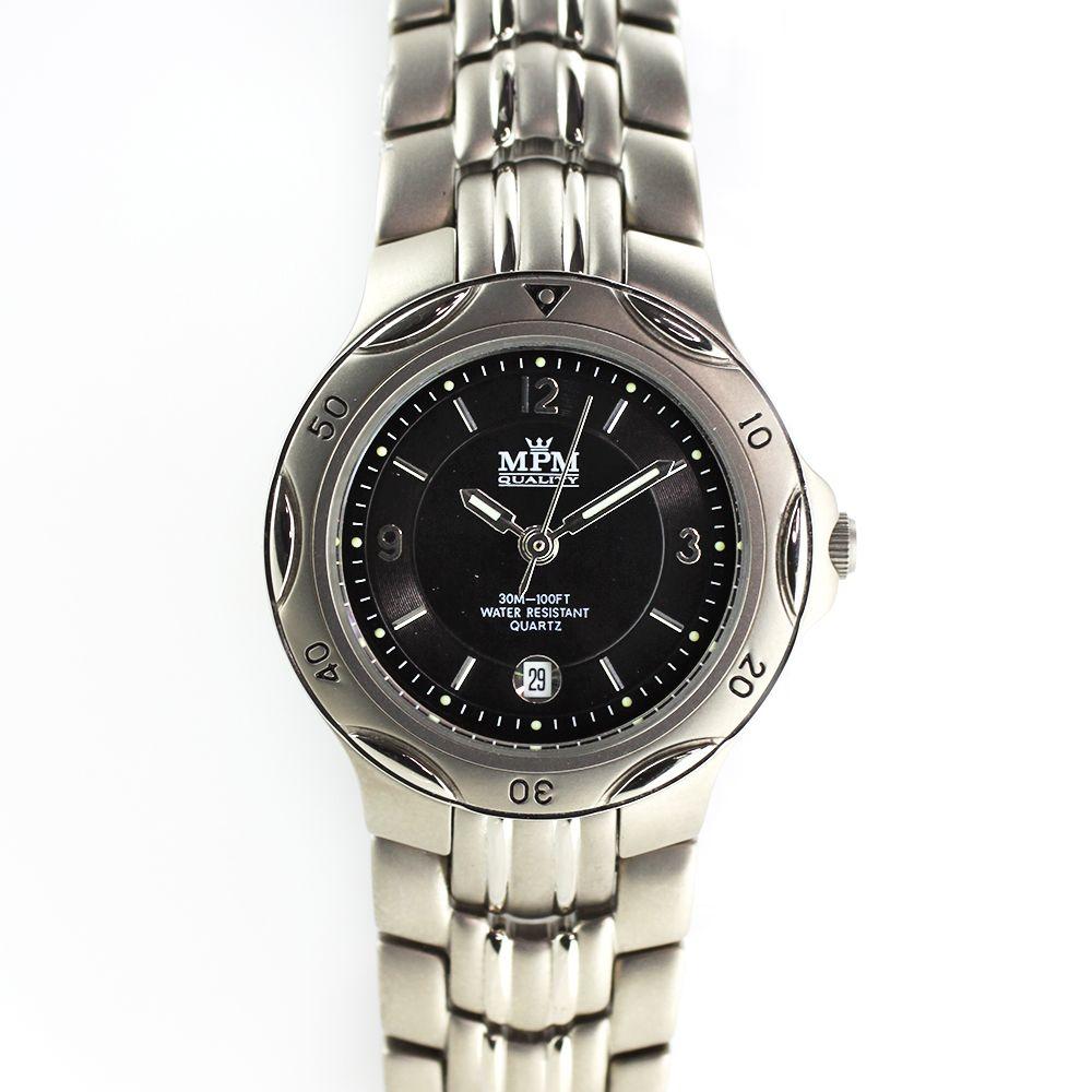 Nástěnné hodiny Dámské hodinky s datumem a titanovým pouzdrem i řemínkem.0399  Nástěnné hodiny 980d6653f1