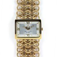 Dámské hodinky s římskými indexy a řetízkovým náramkem..0267
