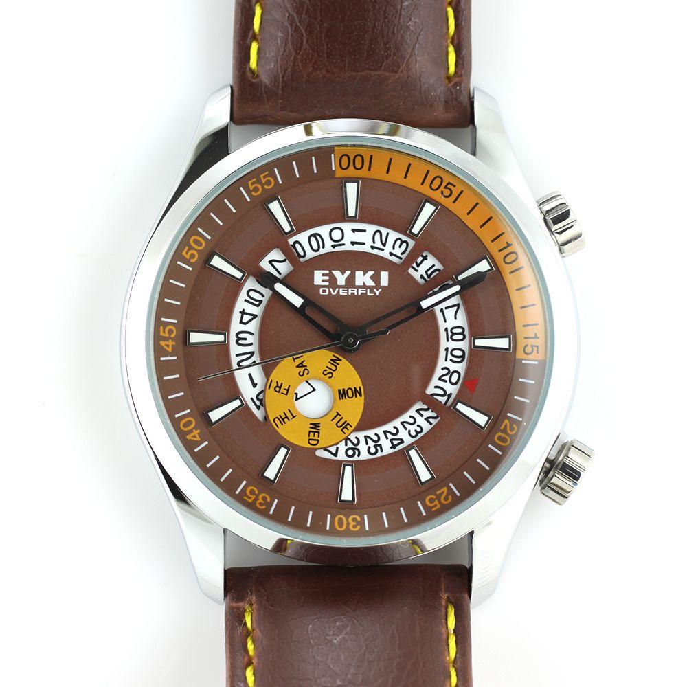 fc44b0dc7b7 Nástěnné hodiny Krásně barevny laděné sportovní hodinky s netradičním  ukazatelem datumu..0248 Nástěnné hodiny