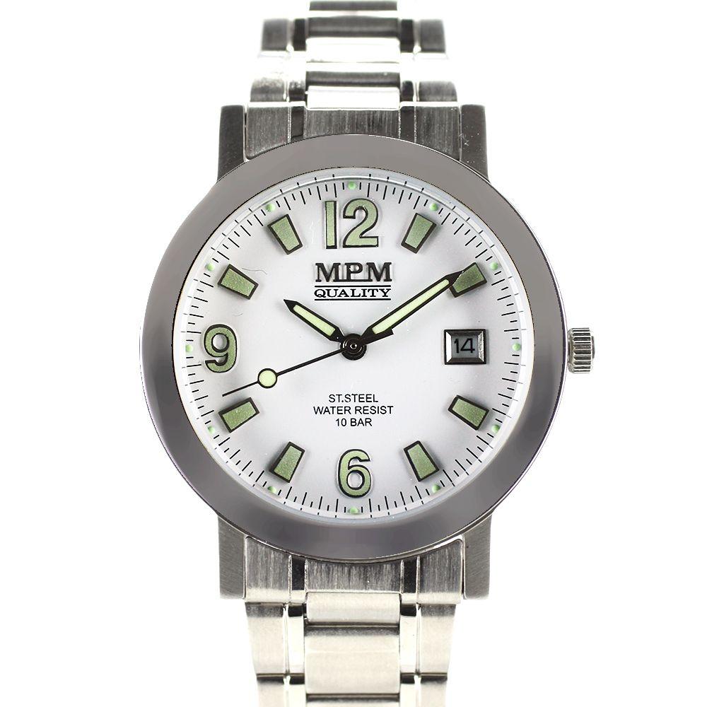 Nástěnné hodiny Pánské hodinky s datem e5a6b3c7324