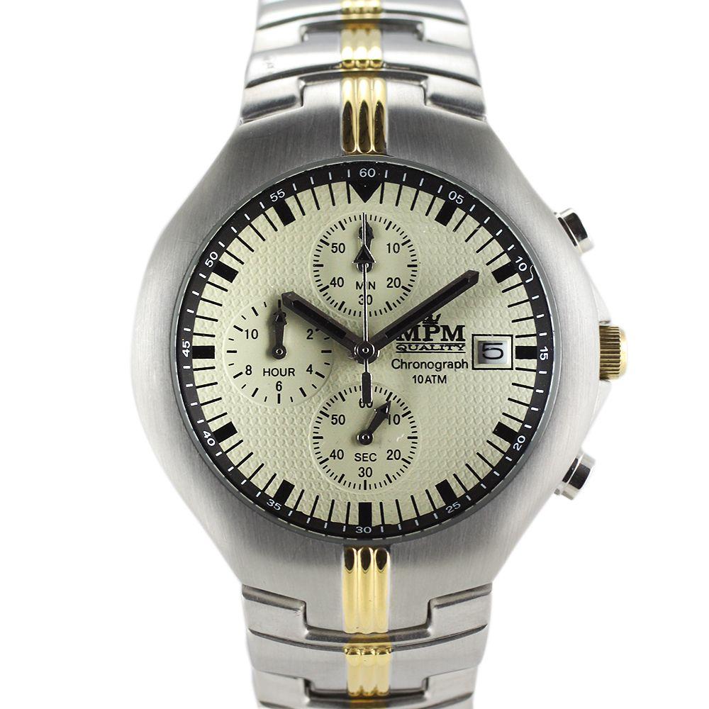 Nástěnné hodiny Pánské hodinky s chronografem 0d7d6eff292