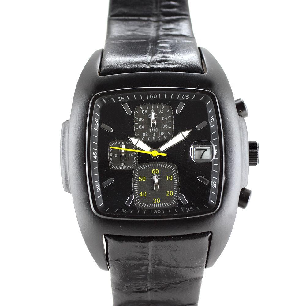 Pánské sportovní hodinky s datumovkou a reliéfním ciferníkem..0310 58b04e6d8a