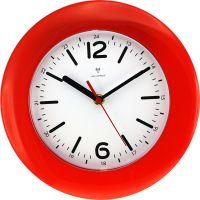 Rádiem řízené nástěnné hodiny s praktickým stojánkem..0449