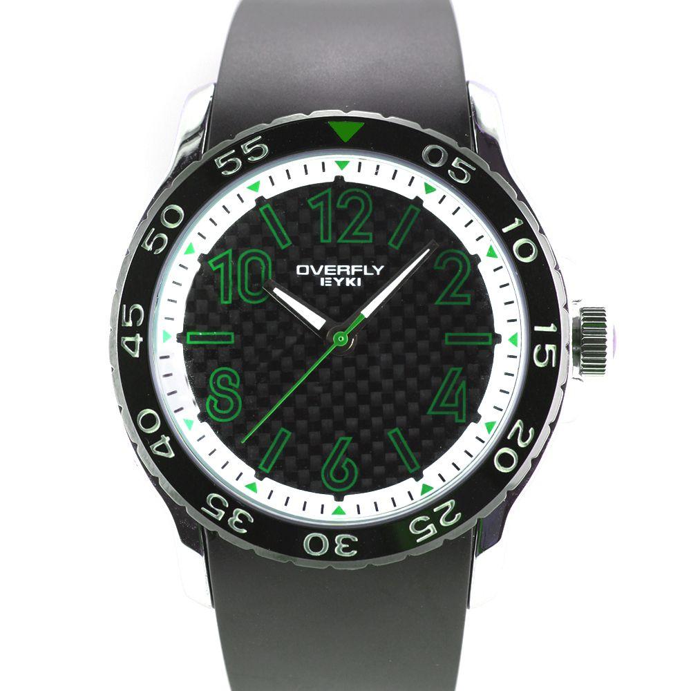 Sportovní hodinky se silikonovým řemínkem..0279 A.Q00I9040C90