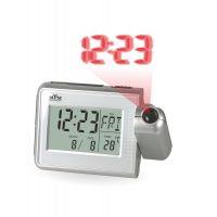 Stolní digitální budík s projektorem času a teploměrem..0552
