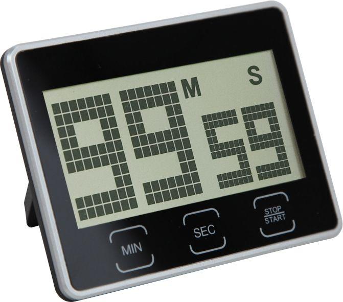 Digitální minutka s čitelným displejem a magnetem..0506 00 - bílá