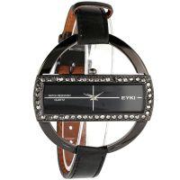 Stylové dámské hodinky zdobené zirkony..0616
