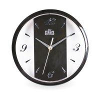 Moderní nástěnné hodiny s minerálním sklem v různých barvách..0637