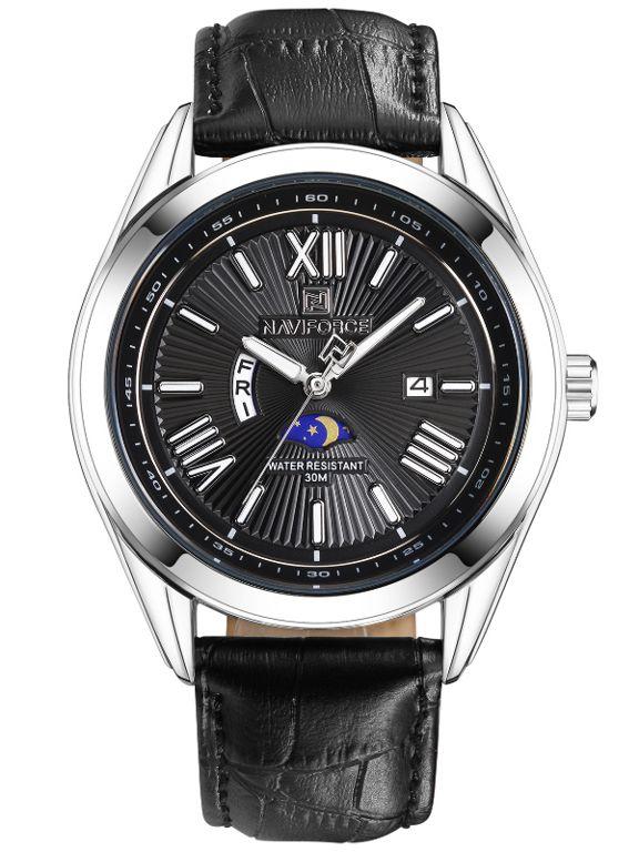 c8e961b60 Módní pánské hodinky s koženým řemínkem..0637 A.Q02I9000B9090.2220